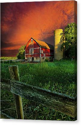 Natur Canvas Print - Wisconsin Life by Phil Koch