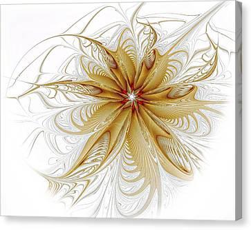 Wispy Canvas Print by Amanda Moore