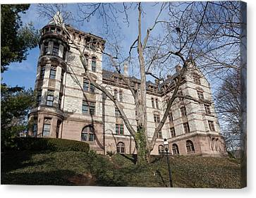 Witherspoon Hall At Princeton Canvas Print by Erin Cadigan