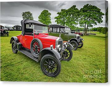 Wolseley Classic Car Canvas Print by Adrian Evans