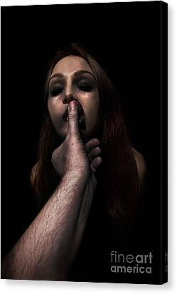 Woman Victim Canvas Print by Aleksey Tugolukov