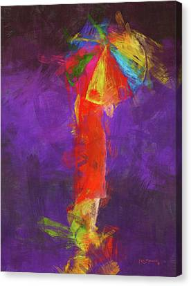 Women In Color Canvas Print