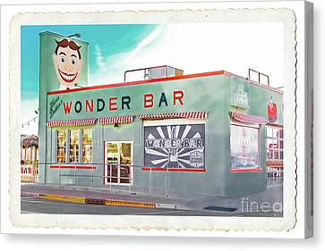 Wonder Bar Canvas Print