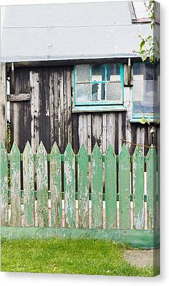 Wooden Shed Canvas Print by Tom Gowanlock