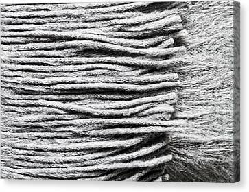 Cravat Canvas Print - Wool Scarf by Tom Gowanlock