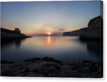 Xlendi Bay - Gozo Canvas Print