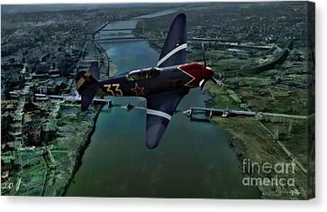 Yakovlek Yak 18 - Oil Canvas Print by Tommy Anderson