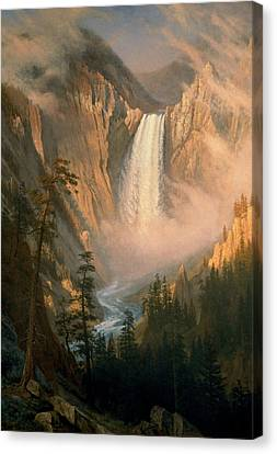 Yellowstone Falls Canvas Print