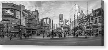 Yonge Dundas Square Canvas Print
