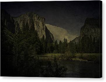 Canvas Print featuring the photograph Yosemite National Park by Ryan Photography