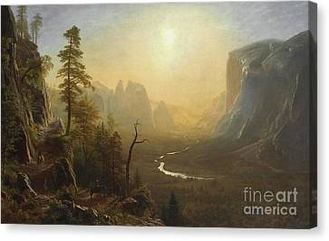 Yosemite Valley, Glacier Point Trail Canvas Print