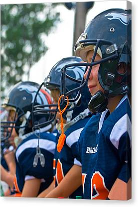 Youth Football Canvas Print