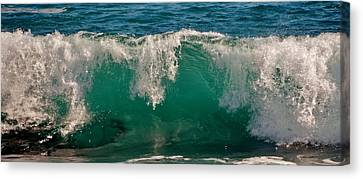 Atlantic Wave Canvas Print by Werner Lehmann