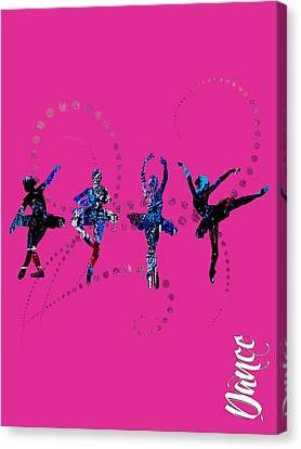 Ballet Canvas Print - Dance Collection by Marvin Blaine