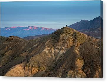 Death Valley Canvas Print by Jon Manjeot