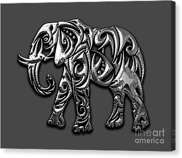 Elephant Collection Canvas Print