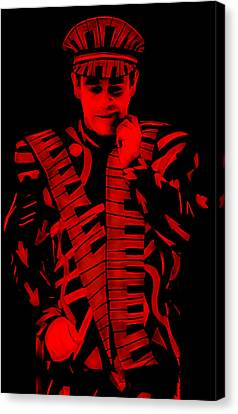 Elton John Collection Canvas Print