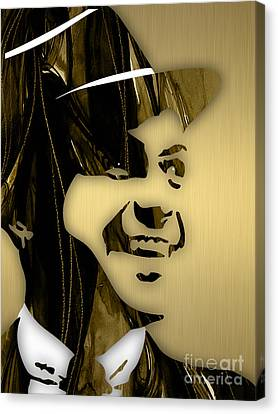 Frank Sinatra Collection Canvas Print