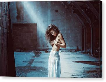 Canvas Print featuring the photograph Giulia by Traven Milovich