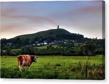Glastonbury Tor - England Canvas Print by Joana Kruse