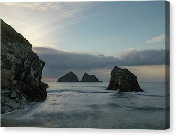 Canvas Print - Holywell Bay - Cornwall by Joana Kruse