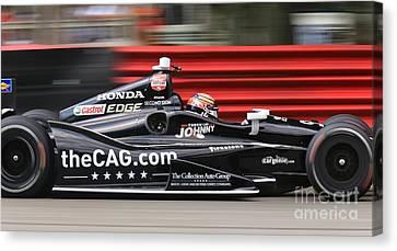 Indycar Performance Canvas Print by Douglas Sacha