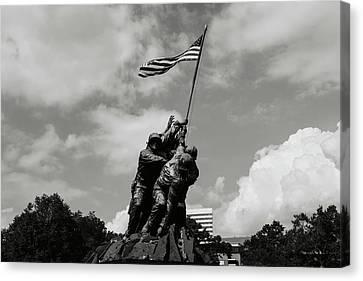 Military Canvas Print - Iwo Jima Washington Dc by Brandon Bourdages