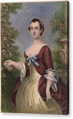 Decolletage Canvas Print - Martha Washington by Granger