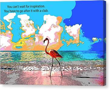 Motivational Quotes Canvas Print