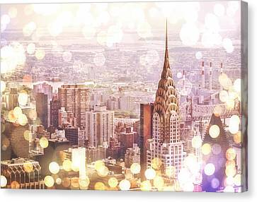 Nyc Rooftop Canvas Print - New York City by Vivienne Gucwa