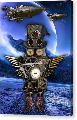 Steampunk Art Canvas Print