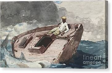The Gulf Stream Canvas Print by Winslow Homer