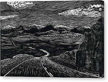 100 Miles Canvas Print by Maria Arango Diener