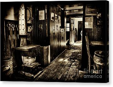 100 Year Old Prr Caboose Canvas Print by Paul W Faust - Impressions of Light