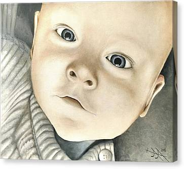 Hyperrealistic Canvas Print - Portrait Of Raphael, 1 by Ramona Boehme