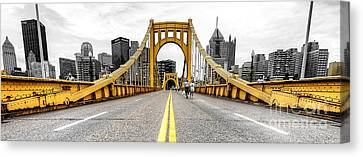 1007 Pittsburgh Pa Canvas Print by Steve Sturgill