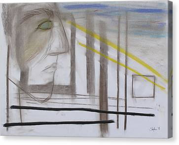 1007 Canvas Print by Stefan Hermannsson