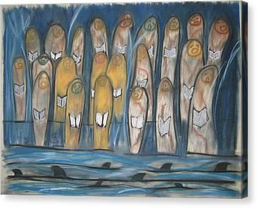 102 Canvas Print by Stefan Hermannsson