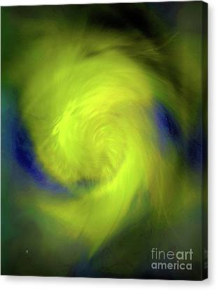 Canvas Print featuring the digital art 1030-2017 by John Krakora