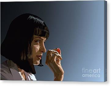 104. Whatever I Wanted Canvas Print by Tam Hazlewood