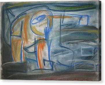 105 Canvas Print by Stefan Hermannsson