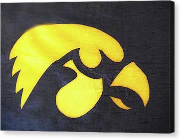 10724  Iowa Hawkeye Canvas Print