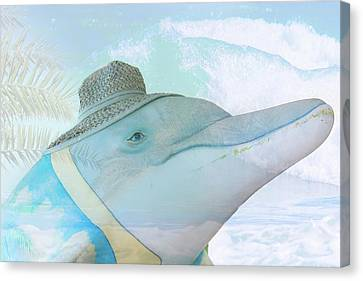 10732 Flipper Canvas Print