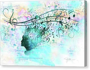 10846 Melodic Dreams Canvas Print