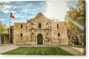 10862 The Alamo Canvas Print by Pamela Williams