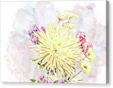 10865 Spring Bouquet Canvas Print