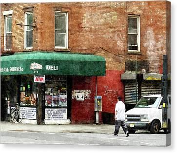 10th Ave. Deli In Manhattan Canvas Print