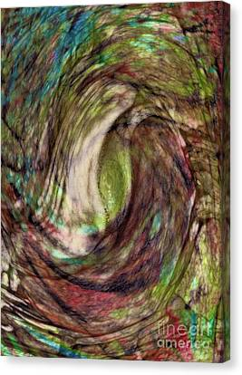 11-03-11 Canvas Print by Gwyn Newcombe