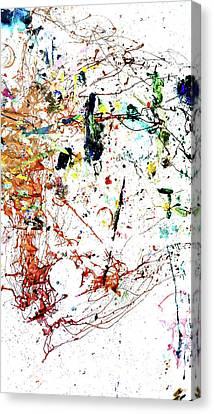 11-1-14-25-5 16-12-21-19 19-3-8-21-13-5-18 16-12-21-19 10-5-19-21-19 16-12-21-19 13-15-20-8-5-18 20- Canvas Print by John Jr Gholson