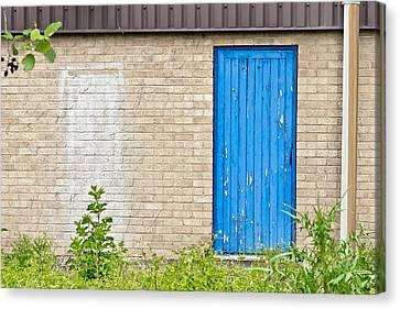 Blue Door Canvas Print by Tom Gowanlock